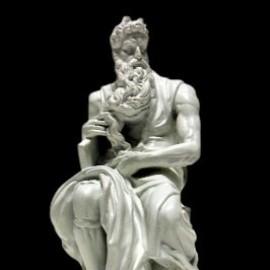Моисей Микеланджело скульптура статуя